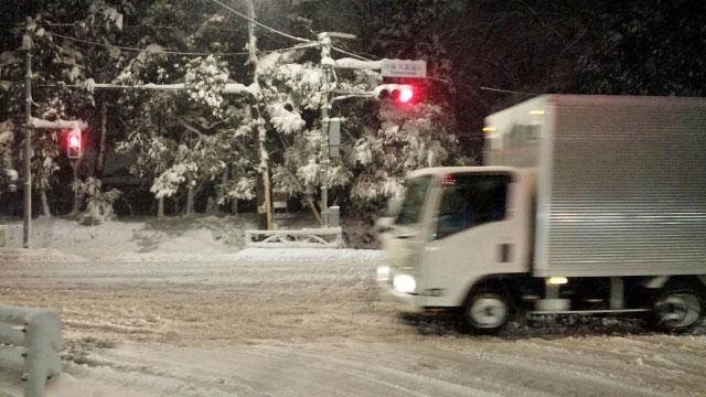 雪道での運転で気をつけること